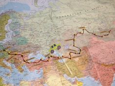 #MongolRally Route