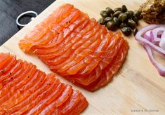 Honey Cured Salmon Gravlax is easy to make and can be served as a breakfast or…