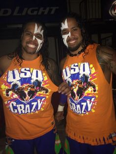 Backstage Photo of The Usos Rocking Their New Shirts at MSG - Daily Wrestling News