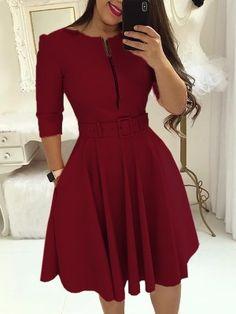 Burgundy Homecoming Dresses,Short Homecoming by RosyProm on Zibbet Burgundy Homecoming Dresses Short, Short Dresses, Dresses For Work, Prom Dresses, Sexy Dresses, Woman Dresses, Summer Dresses, Pleated Dresses, Wedding Dresses