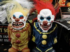 Scary clown dolls