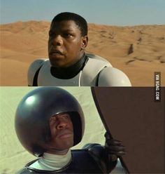 "Everyone's all like ""Ooooo a black Storm Trooper, how unique"" and I'm over here like..."