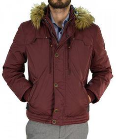 820a864e1f47 Ανδρικό μπουφάν Jacket Inox μπορντό κοντό 16535Q   χειμωνιατικαμπουφαναντρικα  εκπτωσεις  προσφορες  menjacket Rain