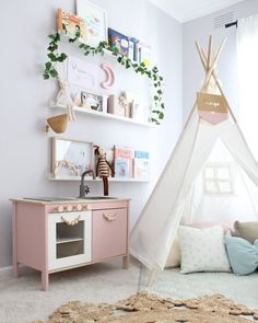 Pastel Pink Ikea Kitchen - Image From Indi And Bear
