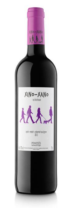 etiquetas vino xinoxano