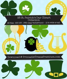25 St. Patrick's Day Clipart Collection