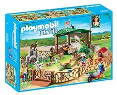 Playmobil – 6635 – La Vie En Ville – Parc Animalier