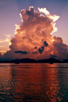 Seychelles, La Digue, Land scape