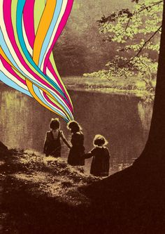 1k art trippy psychedelic