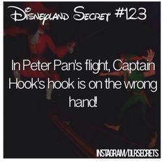 Disneyland secrets--I wonder if they had a reason for doing this.every time I ride it it bothers me. Disneyland Secrets, Disney Secrets, Disney Tips, Disney Memes, Disney Quotes, Disney Magic, Disneyland Hacks, Disneyland 2016, Disney Trivia