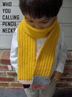 Would use smaller needles for the grey & pink and bigger rib sections for the yellow. Cute!