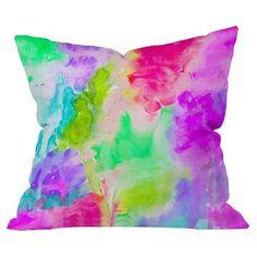 DENY Designs Safe And Sound Throw Pillow