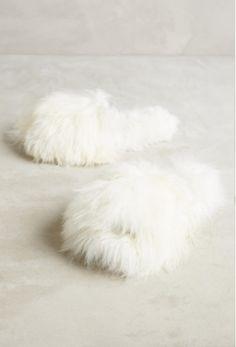 Anthropologie fur slippers