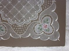 Arlene Linton...painted lace, wonderful