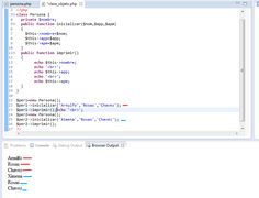 Esta imagen muestra el código de una clase llamada persona para posteriormente ser impresa  creando dos objetos  https://mega.co.nz/#!gApjiYgL!-E1uI3jYtGxtSPAKRW63VkF4nJSTKXkU5PNR0_5CZto