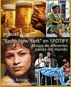 """♩ ♪ ♫ ♬  Radio """"New York"""" de Ipitimes en SPOTIFY. (Sitio principal) The Best Of World Music Project by Artur Coral."""