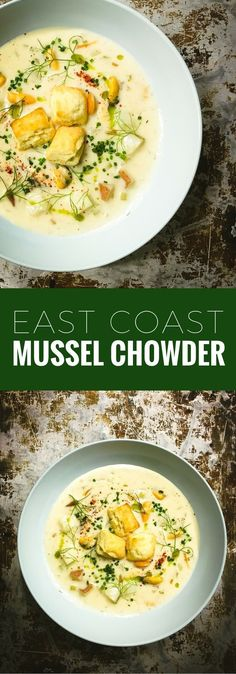 Mussel chowder is a traditional favorite on Prince Edward Island. Here's an award-winning Chef recipe.
