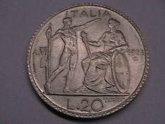 """Annuncio COINS """"Littore"""" Vittorio Emanuele 3 RE l.20 del 1928 nella categoria Italia, San Marino e Vaticano,Europa (non-€ e pre-€),Monete,Monete e banconote su eBid Italia"""