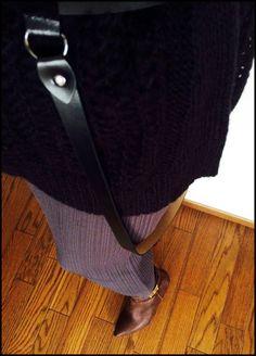 ★ビッグニット+マキシスカート&型にハマらない雰囲気? DORILOGーー今日のおしゃれ、明日のデザイン。