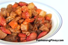 This Menudo Recipe is the best dish to serve during special occasions. Learn how to cook this Filipino dish the easy way.