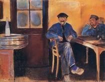 Tavern in St. Cloud - Edvard Munch