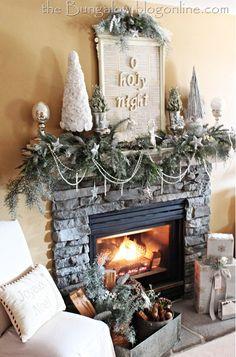 Winter Mantle Christmas Decoration Ideas 13 New Ideas Christmas Mantle Decorating