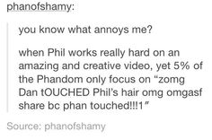 Phil deserves more credit. His 2 latest videos were very creative and well done.