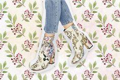Obsesión del día: botines de flores de Asos