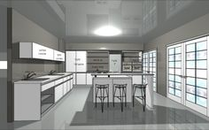 עיצוב מטבח בשרונה #מטבחים