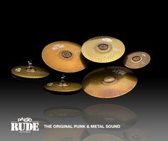 Paiste: Products-> Cymbals-> RUDE