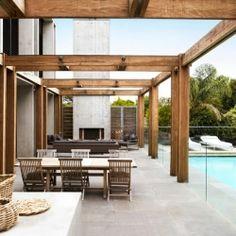 Ultra-modern Australian beachside villa in Australia.