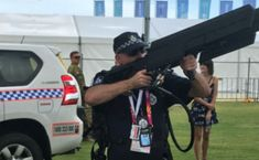 Queensland Police Brings Down a Drone Using DroneGun at a Commonwealth Games Venue