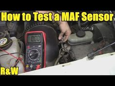 How to Test a Mass Air Flow (MAF) Sensor - Without a Wiring Diagram - YouTube