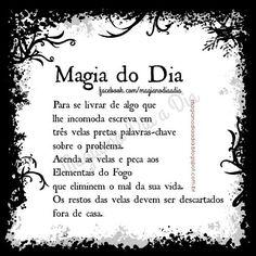 Magia no Dia a Dia: Magia do Dia: velas pretas Magick, Witchcraft, Strange Magic, A Kind Of Magic, Baby Witch, Witch Spell, White Witch, Book Of Shadows, Petunias