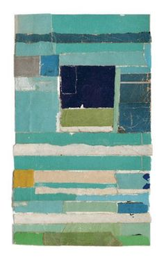 Salvaged paper collage by lisa hochstein. Idea for MB art. Contemporary Abstract Art, Modern Art, Contemporary Artists, Art Du Collage, Creation Art, Grafik Design, Art Plastique, Painting & Drawing, Painting Abstract