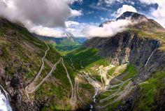 Panorama over Trollstigen, Norway - Google Search