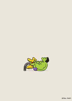 Hulk Sad by Phil Jones