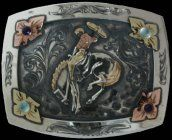 Cosmic Cowboy Trophy Buckle