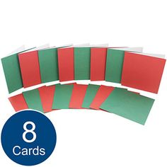 Create Your Own Christmas Cards - 5 x 5 Inch