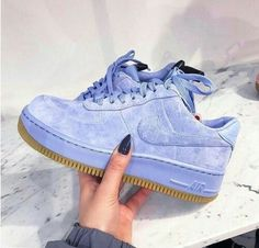 on - Sneakers Nike - Ideas of Sneakers Nike - Adidas Women Shoes Sneakers women Nike Air Force 1 Upstep blue (broganwest) We reveal the news in sneakers for spring summer 2017 Cute Shoes, Me Too Shoes, Women's Shoes, Shoes Sneakers, Roshe Shoes, Nike Air Shoes, Sneakers Adidas, Grey Sneakers, Adidas Nmd