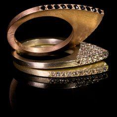 Pave Apex Rings