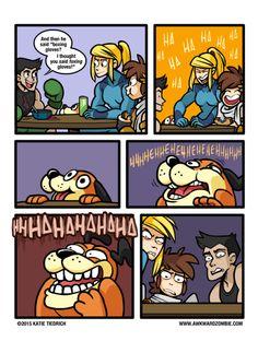 kate tiedrich akward zombie acnl comics - Google Search