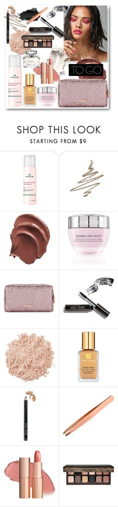 """""""In pink we trust"""" by acidflower ❤ liked on Polyvore featuring beauty, Urban Decay, Nuxe, Anastasia Beverly Hills, Lancôme, Skinnydip, Bobbi Brown Cosmetics, La Mer, Estée Lauder and Laura Mercier"""