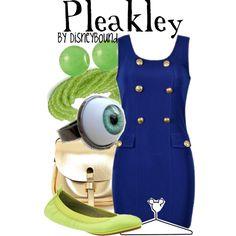"""Pleakley"" by lalakay on Polyvore #disney"