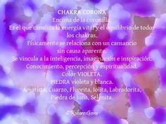 Chakra Corona. Color Violeta.