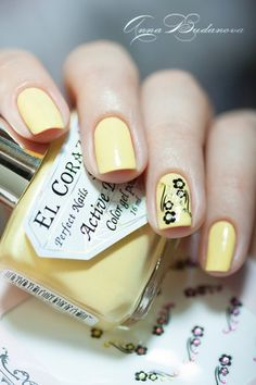 El Corazon Active Bio-gel Color gel polish №423/280 Cream   наклейки для ногтей El Corazon EC b12