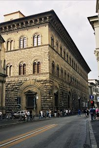 The Palazzo Medici, also called the Palazzo Medici Riccardi after the later family that acquired and expanded it, is a Renaissance palace located in Florence, Italy. https://www.google.ro/maps/place/Riccardi+Medici+Palace/@43.769362,11.2556322,638a,20y,352.1h,42.5t/data=!3m1!1e3!4m5!3m4!1s0x0:0x8fcb8659c80d7240!8m2!3d43.7751902!4d11.2557749
