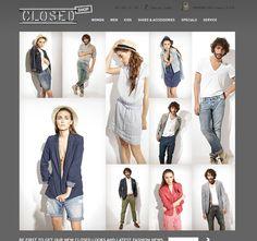closed.com ecommerce website
