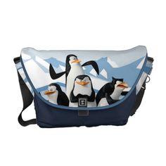 Shop Team of Penguins Messenger Bag created by penguinsofmadagascar. Cool Messenger Bags, Penguins Of Madagascar, Cute Penguins, Dreamworks Animation, Cartoon Kids, Travel Bag, Colorful Interiors, Diaper Bag, Gym Bag