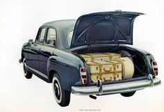 60 Jahre: Happy Birthday Mercedes-Benz Ponton: Rückblick: (Selbst-)tragende Rolle: Die Mercedes Ponton-Baureihen W 120 und W 121 - Classic - Mercedes-Fans - Das Magazin für Mercedes-Benz-Enthusiasten
